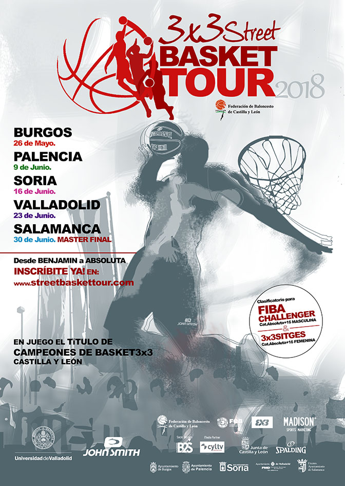 street basket tour 2018