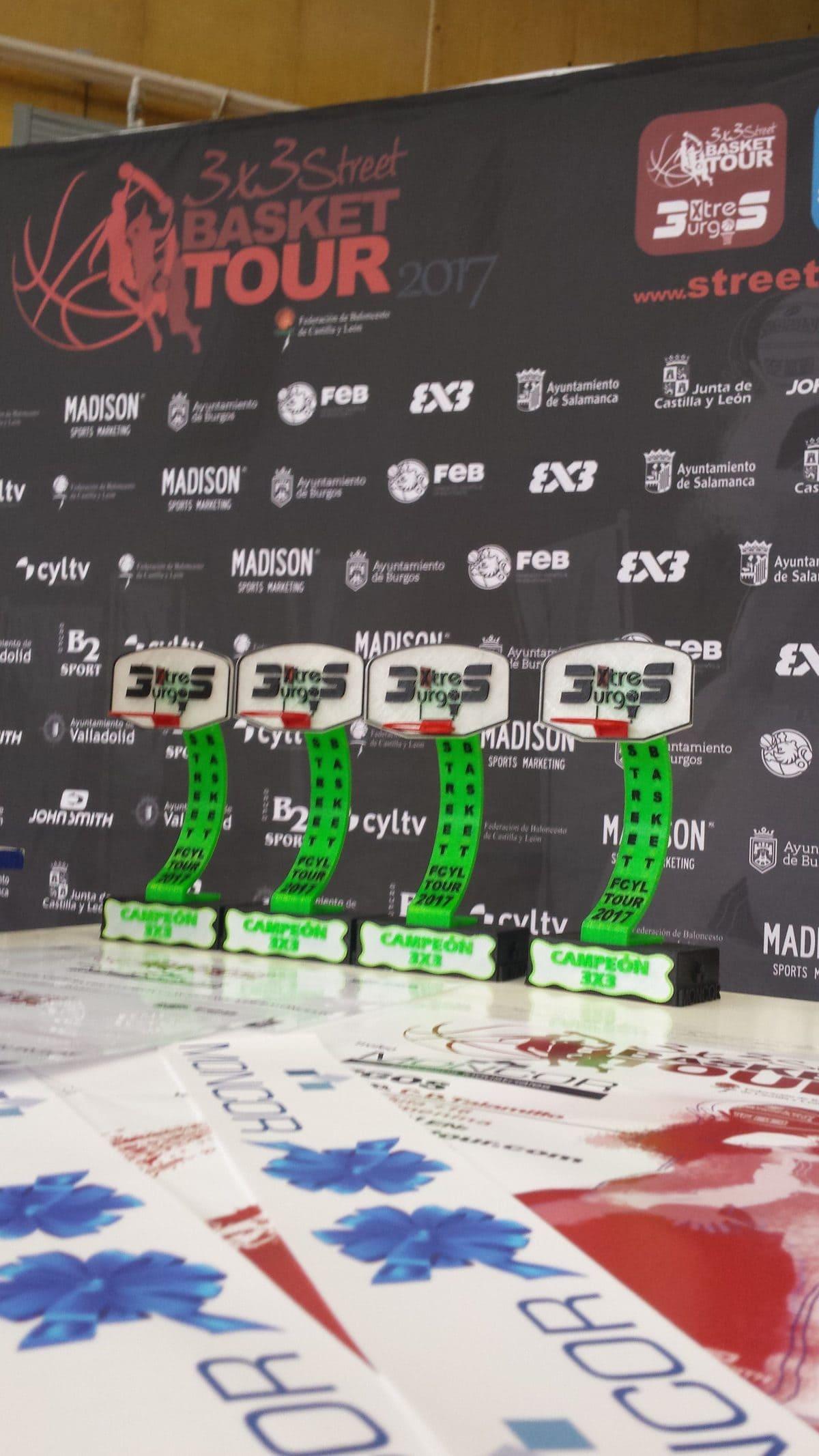 Trofeos. 3x3SBT Burgos