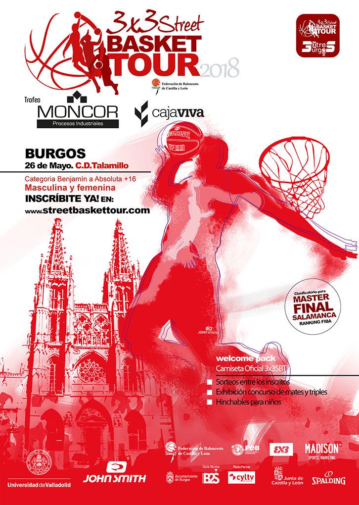 3x3 Street Basket Tour BURGOS2018