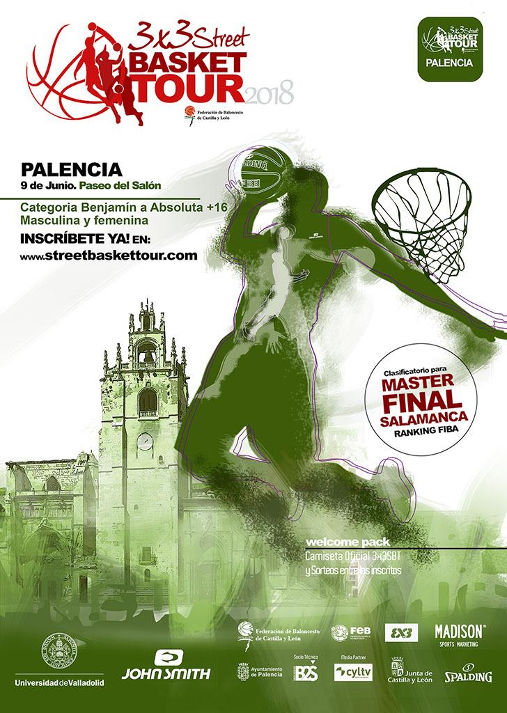 3x3 street basket tour PALENCIA2018