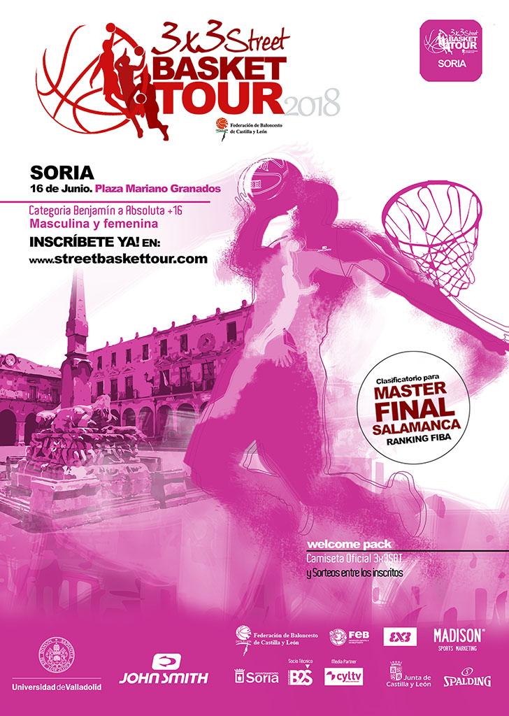 3x3 street basket tour SORIA2018