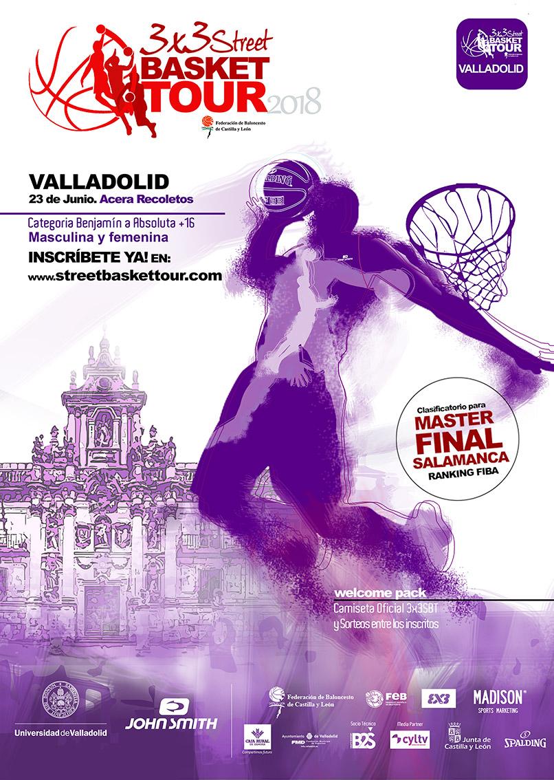 3x3 street basket tour VALLADOLID2018