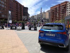 Lexus coche oficial 3x3 Street Basket Tour 2019